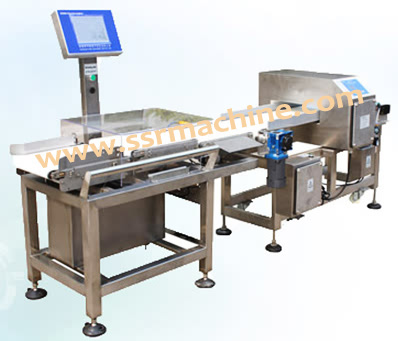 Food grade Combi metal detector Check weigher