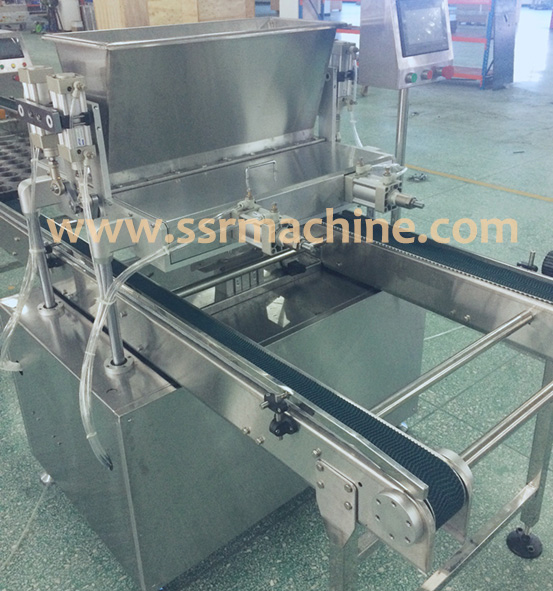 automatic stainless steel mini cup cake making filling machine depositor