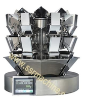 Tri-level 8Head Weigher with Memory Hopper Digital balancing machine