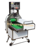 Stainless fruit cutter, electric plantain banana chips cutting machine