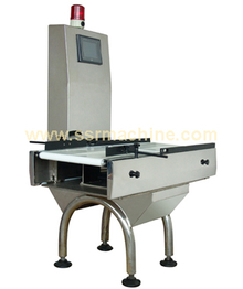Digital weighing system Checkweigher machines with buzzer alarm for bags bottles