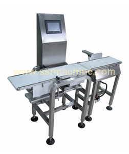 High speed automatic conveyor check weigher Weight Sorting Machine