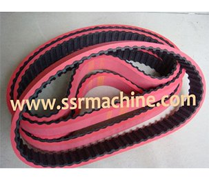 Timing belt for film pulley