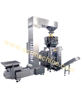 Multi-head Combined Weighing Automatic Vertical Packing Machine